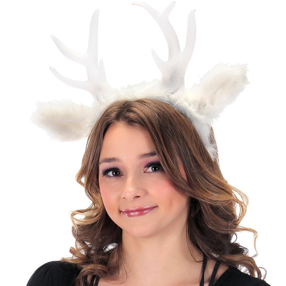 Light-Up White Deer Antlers Image #2