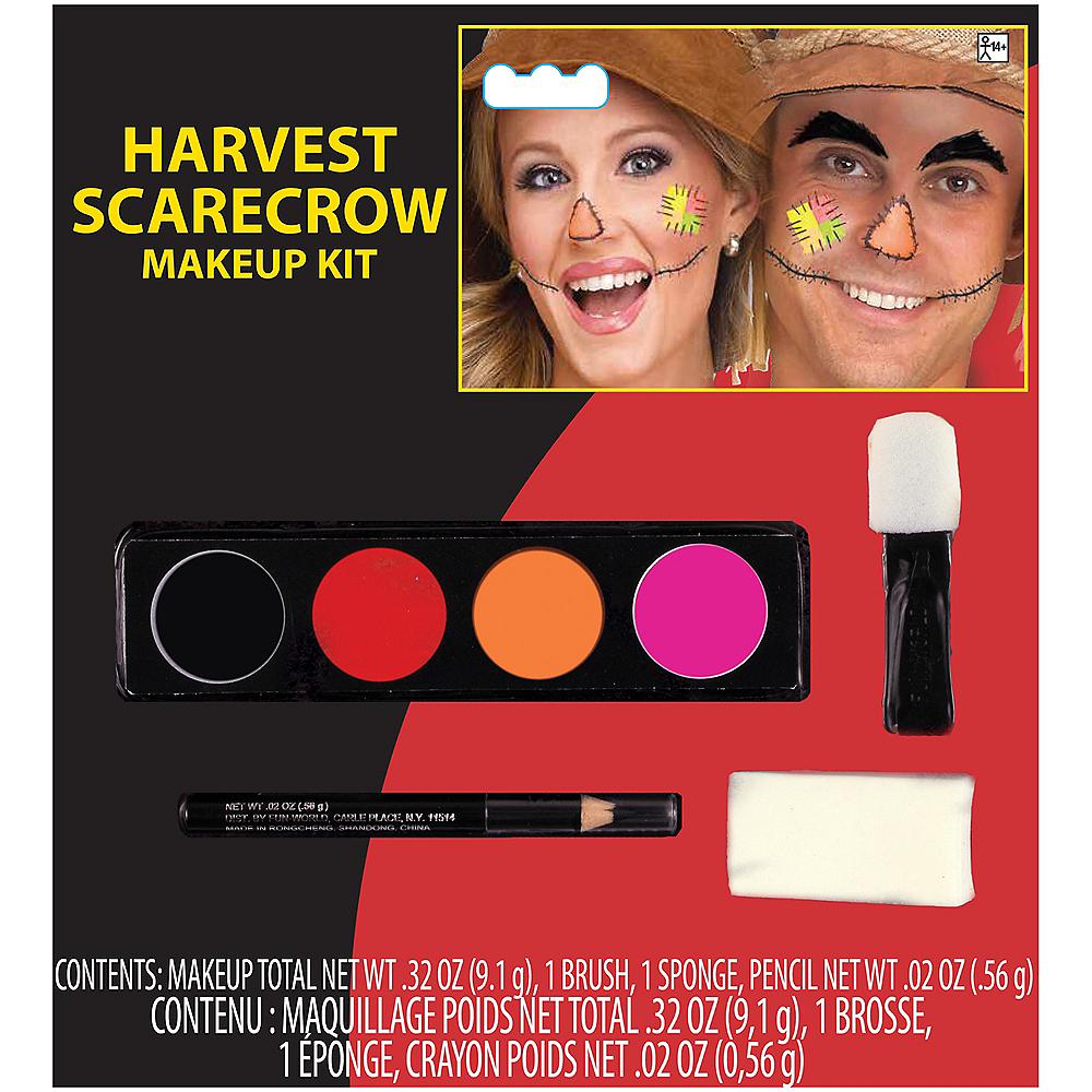 Scarecrow Makeup Kit 4pc Image #1
