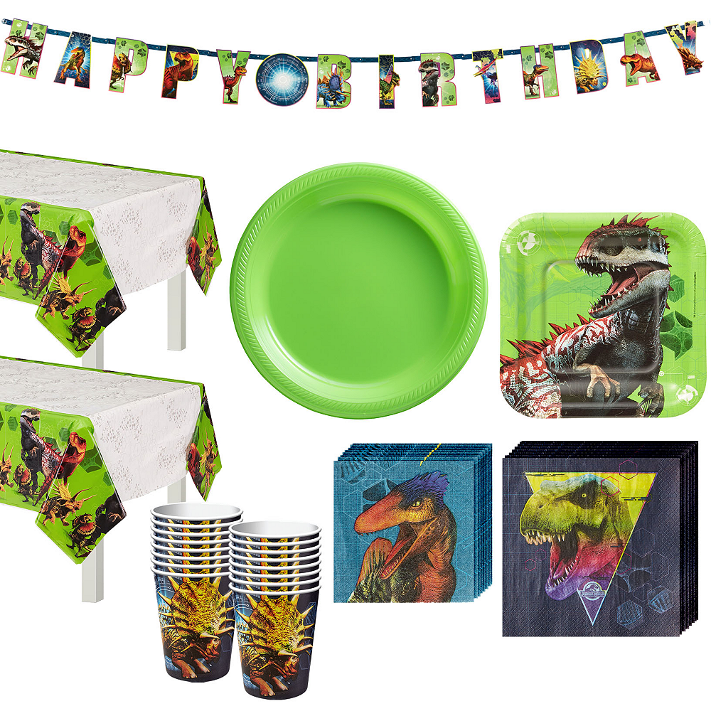 Jurassic World Tableware Kit For 16 Guests Image 1