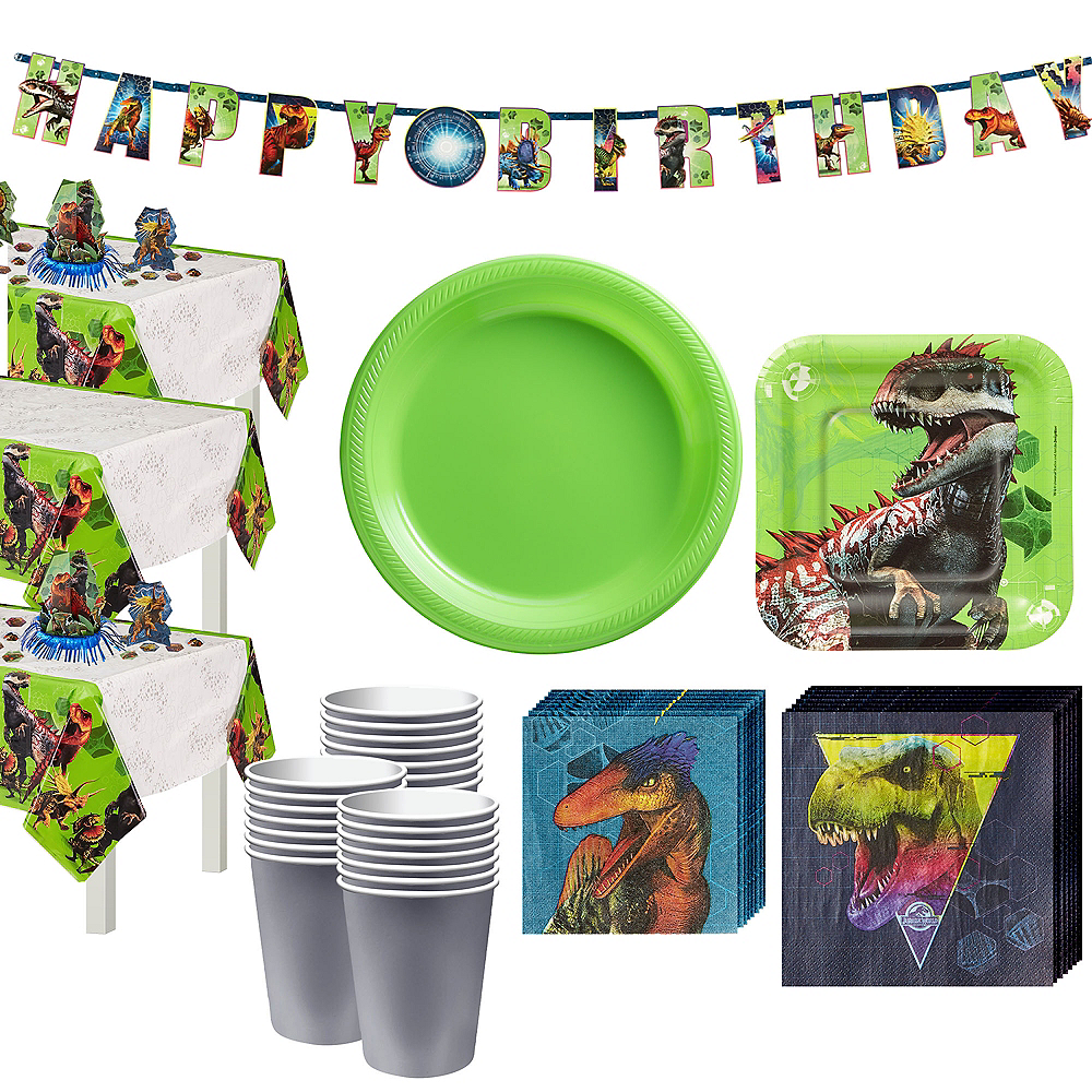 Jurassic World Tableware Kit for 24 Guests Image #1