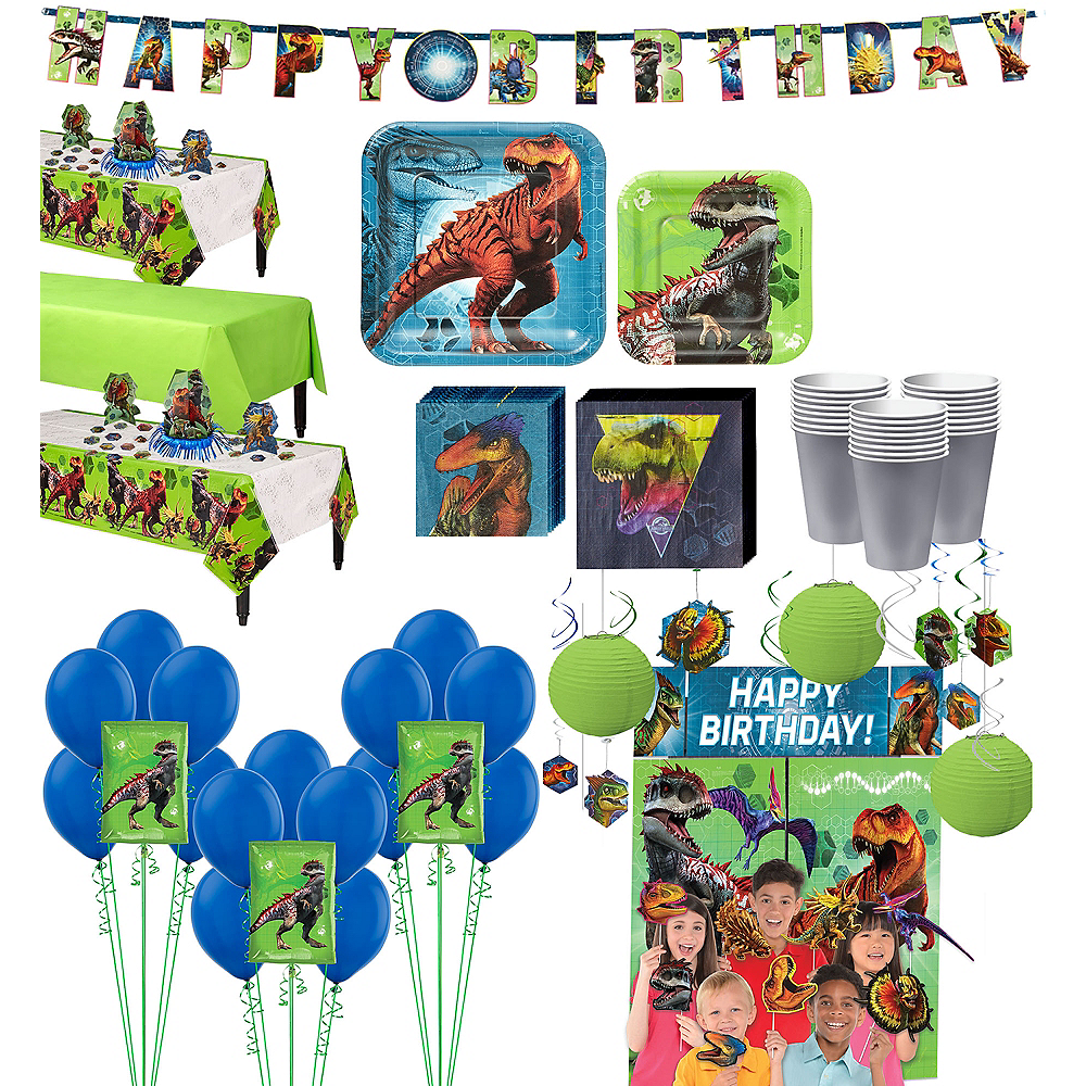 Ultimate Party Supplies And Rental Store In City Of Nashville: Jurassic World Ultimate Party Kit For 24 Guests