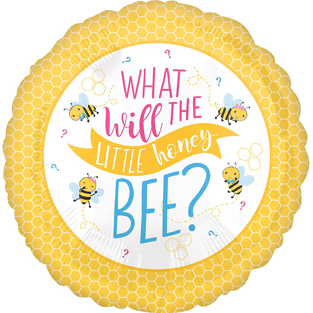 Little Honey Bee Gender Reveal Balloon Image #1