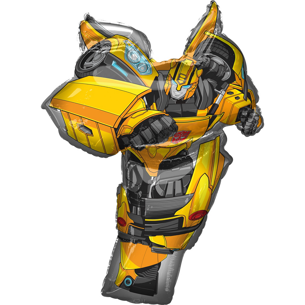 USA Optimus Prime Bumblebee Transformers Foil Balloon Toys Birthday Party Supply