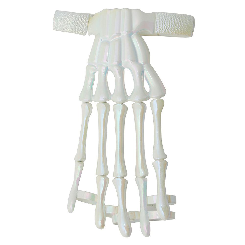 Iridescent Skeleton Hand Bracelet Image #1