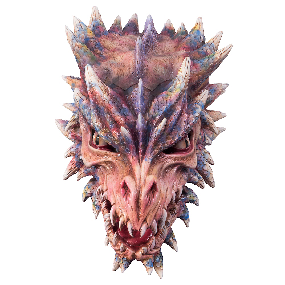 Adult Dragon Mask Image #1