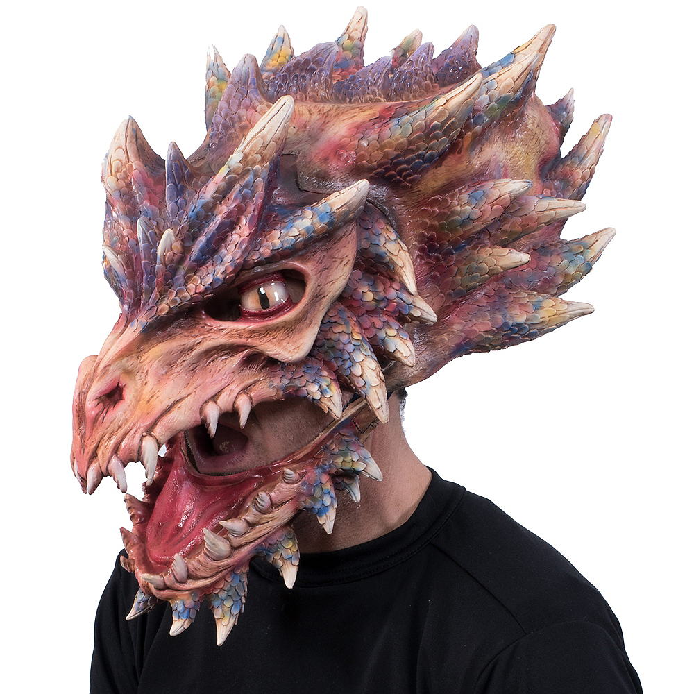 Nav Item for Adult Dragon Mask Image #2
