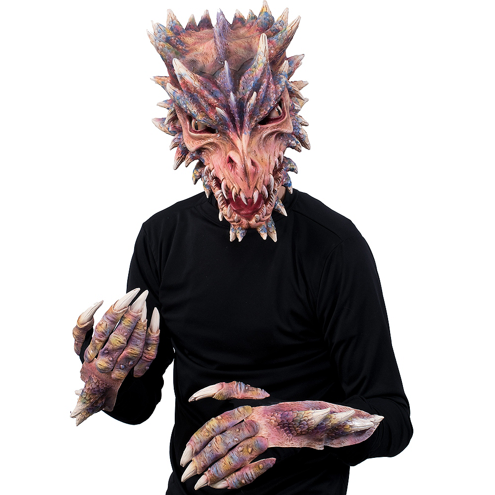 Adult Dragon Mask Image #3
