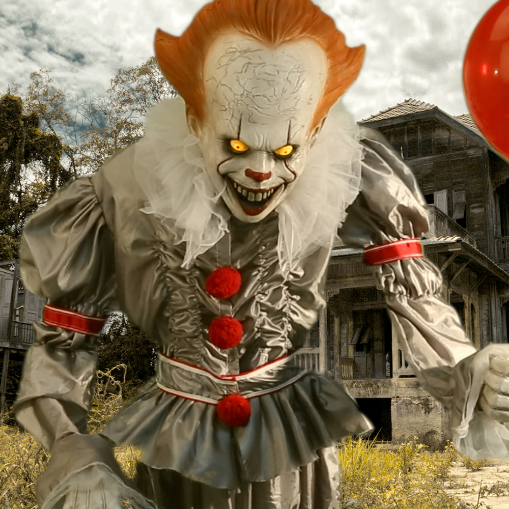 animated giant pennywise decoration it image 1