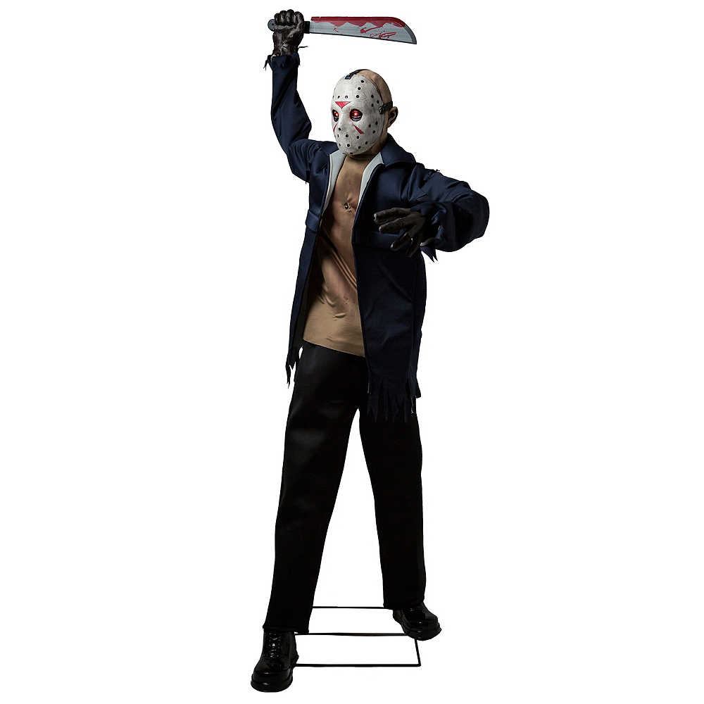 Animated Jason Voorhees Decoration - Friday the 13th Image #1