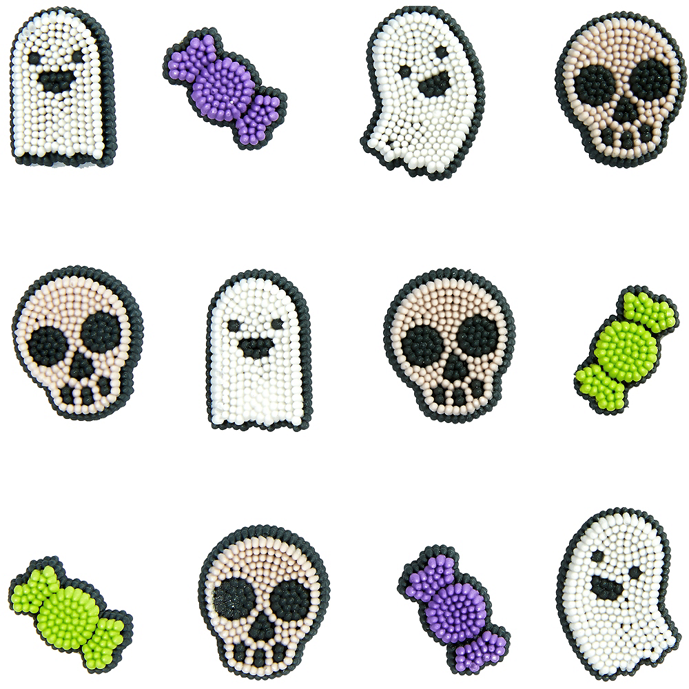 Wilton Halloween Icing Decorations 12ct