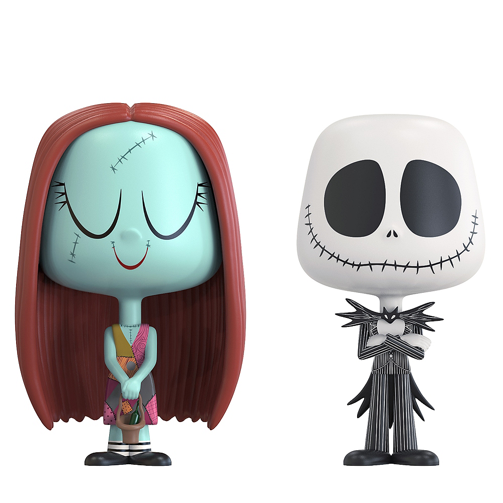 Funko Sally & Jack Skellington Figures 3 3/4in - The Nightmare ...