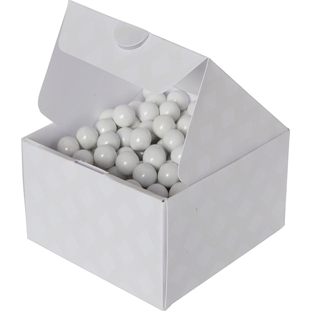 White Treat Boxes 10ct Image #1