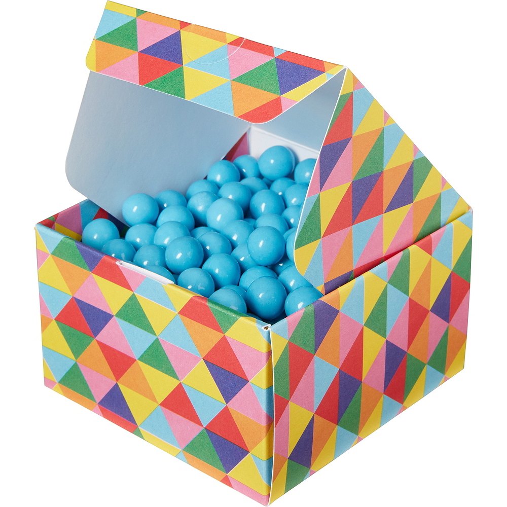 Nav Item for Rainbow Geometric Triangle Treat Boxes 10ct Image #2