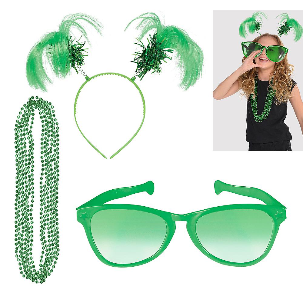 Green Basic Fan Kit Image #1
