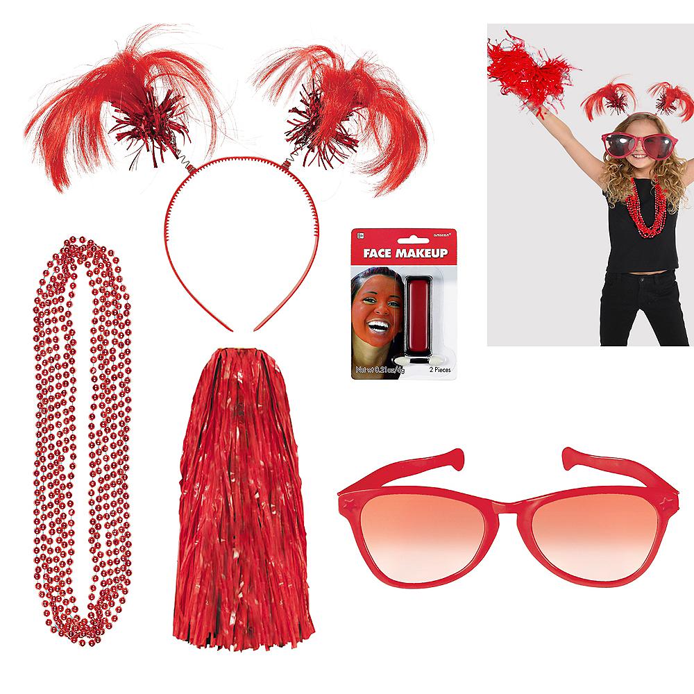 Red Deluxe Fan Kit Image #1
