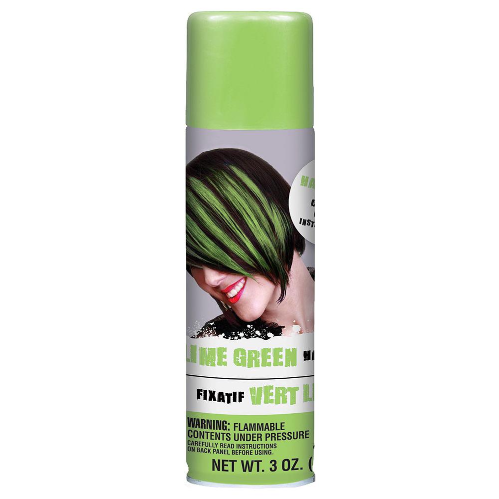 Lime Green Hair Spray 2ct Image #2