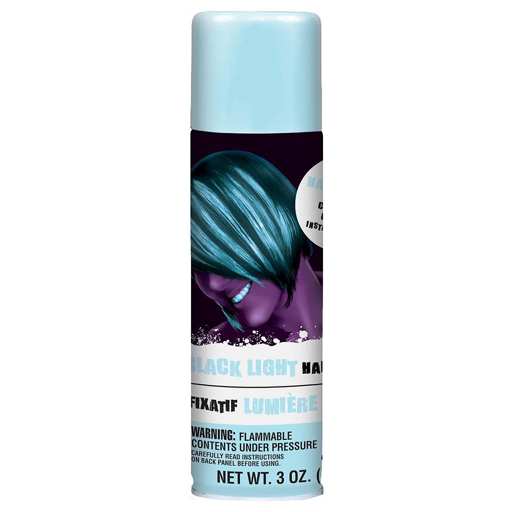 Black Light Neon Hair Spray 5ct Image #2