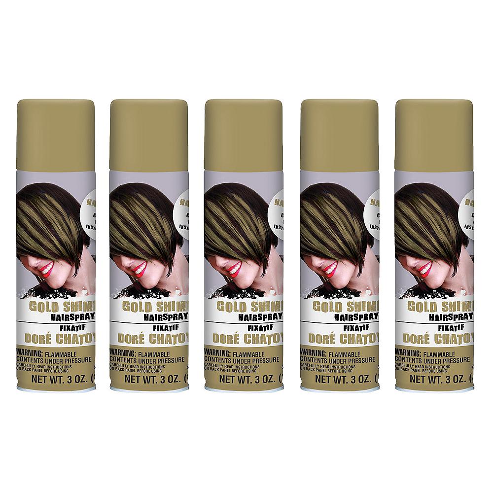 Gold Hair Spray 5ct Image #1
