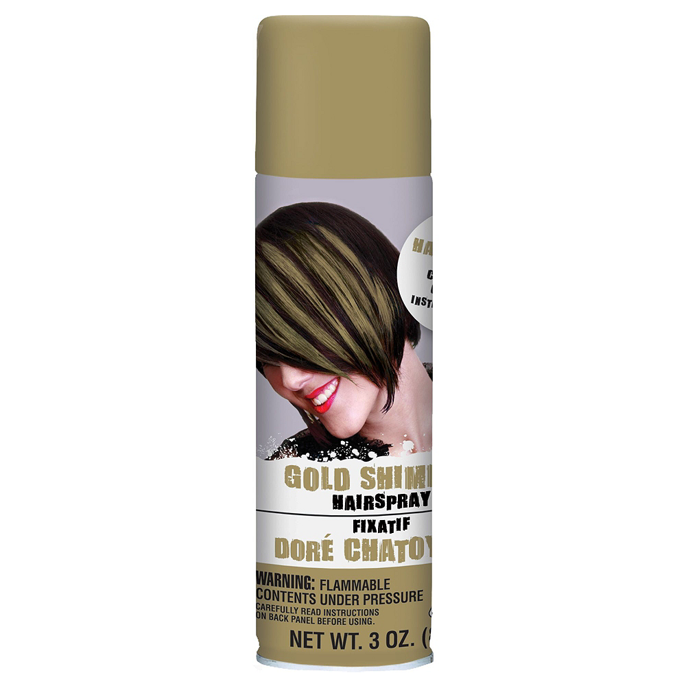 Gold Hair Spray 5ct Image #2