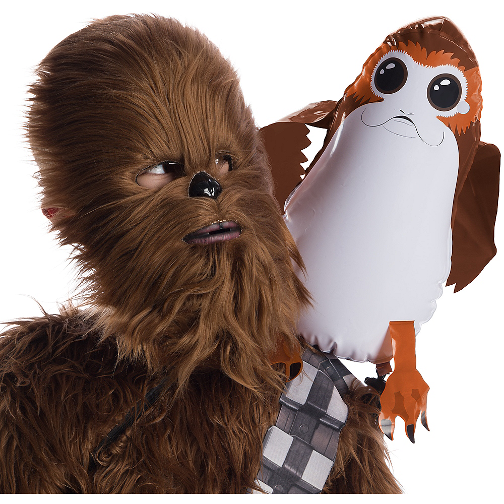 Inflatable Porg Shoulder Sitter - Star Wars Image #1