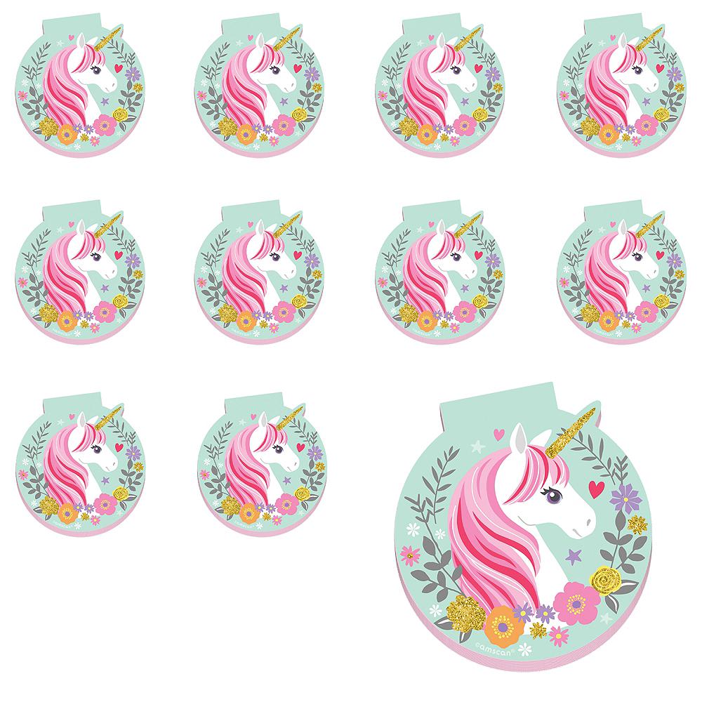 Magical Unicorn Notepads 48ct Image #1