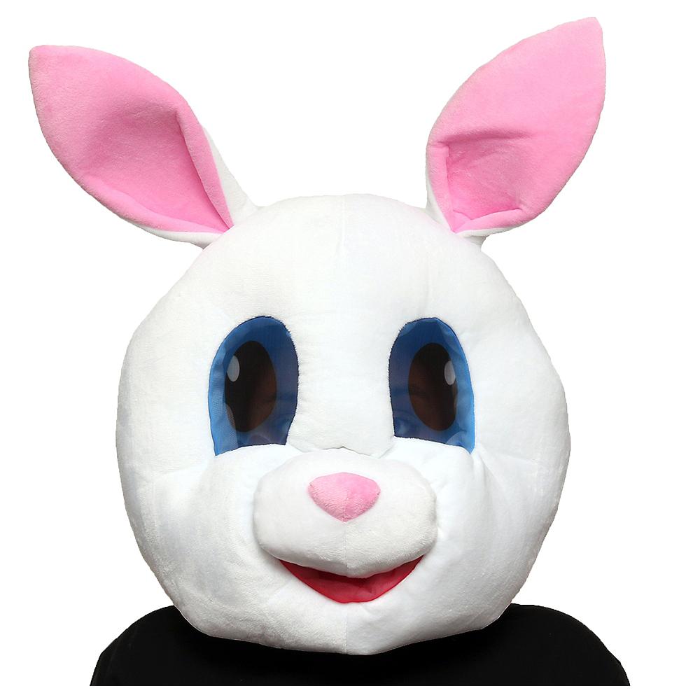 White Bunny Mask Image #1
