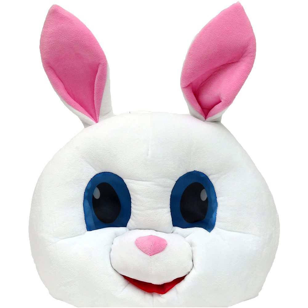 White Bunny Mask Image #2