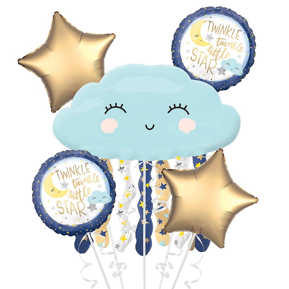 Twinkle Twinkle Little Star Balloon Bouquet 5pc Image #1
