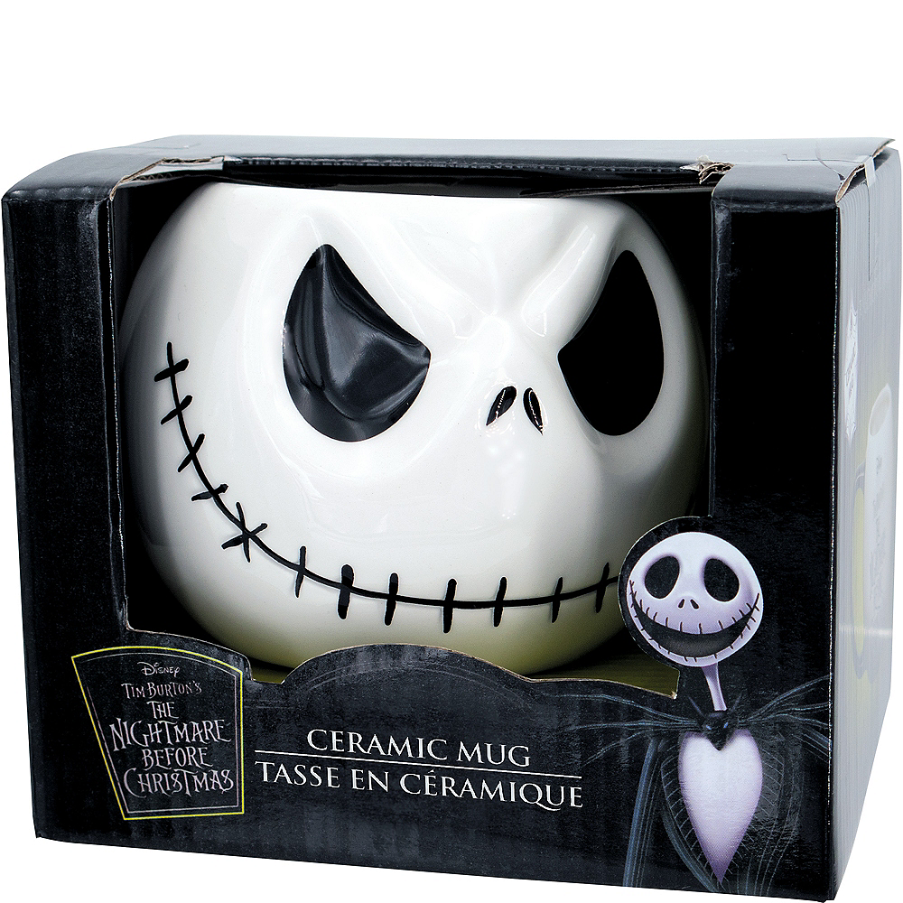 Jack Skellington Mug 19.2oz - The Nightmare Before Christmas | Party ...