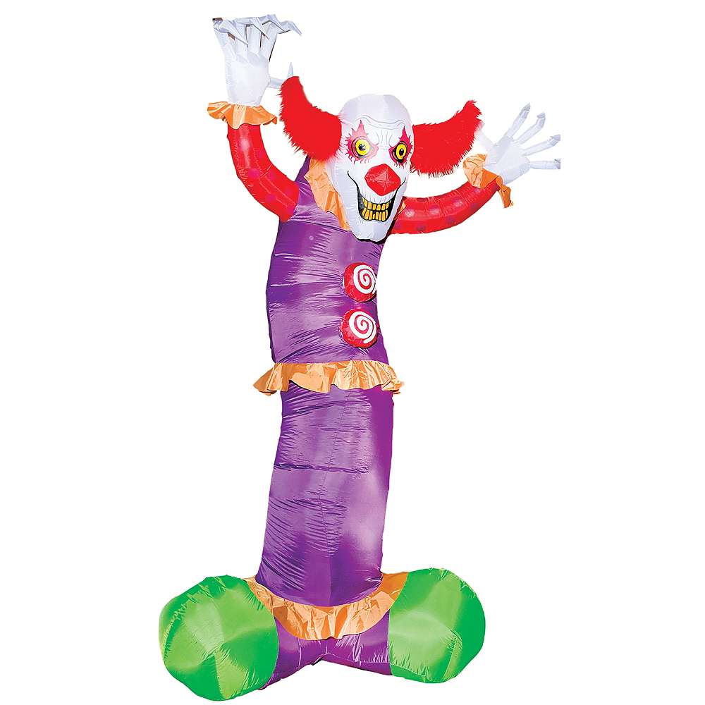 Child Inflatable Clown Costume |Halloween Clown Inflatables