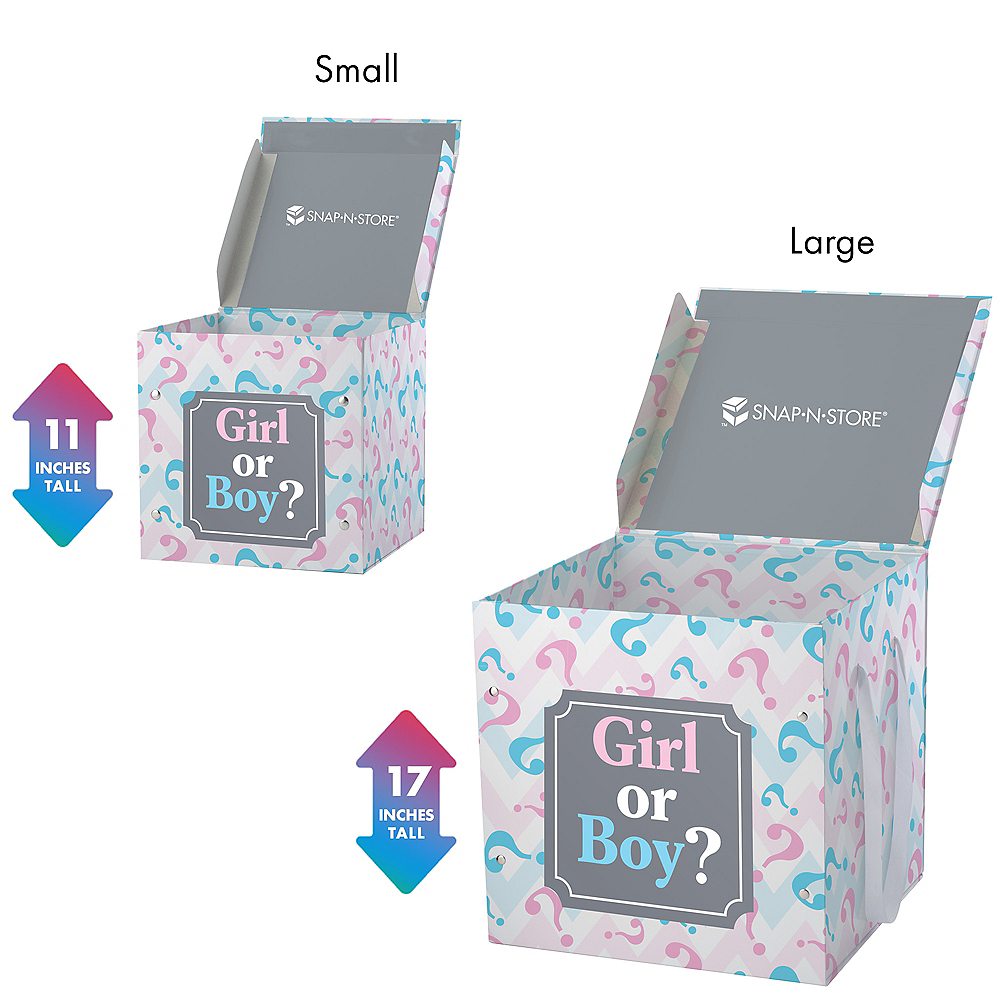 Nav Item for Small Pink & Blue Gender Reveal Box Image #2