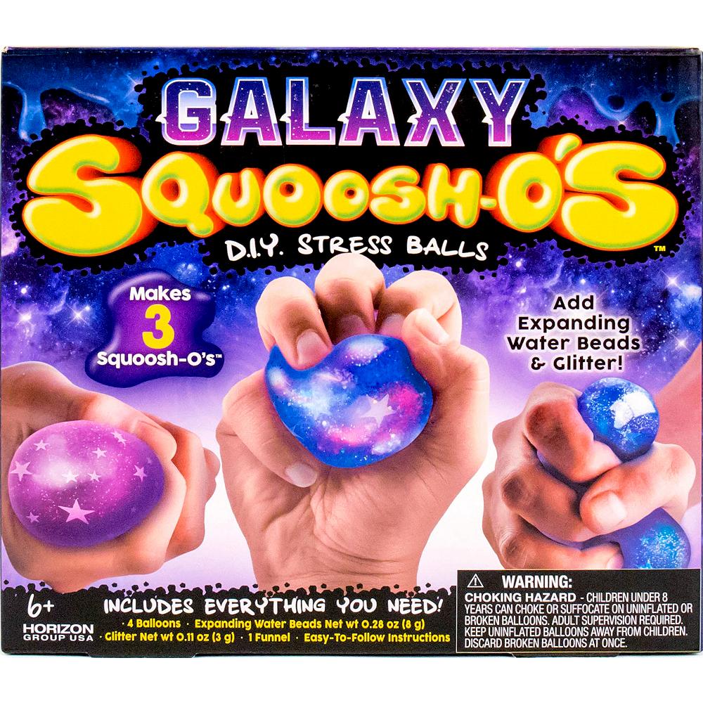 Galaxy Squoosh O S Diy Stress Balls Craft Kit 7pc