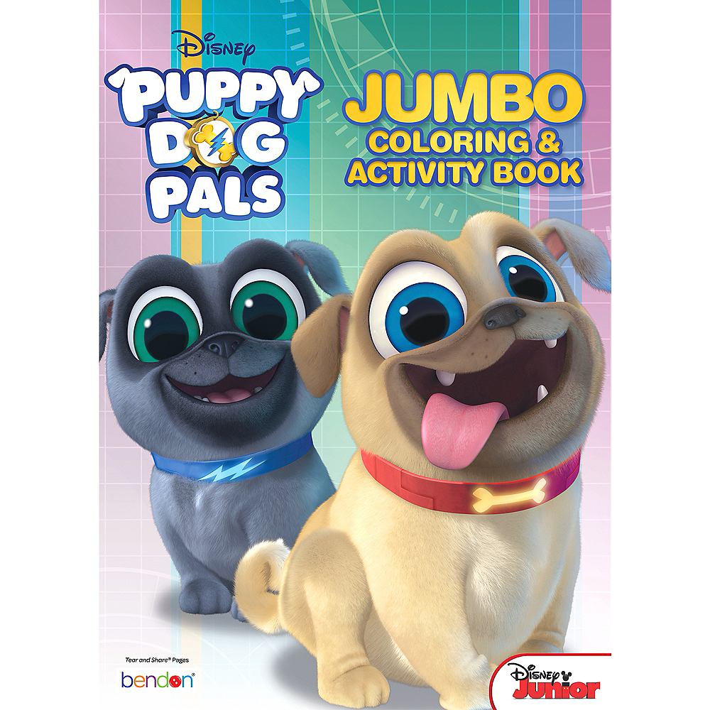Puppy Dog Pals Coloring amp Activity
