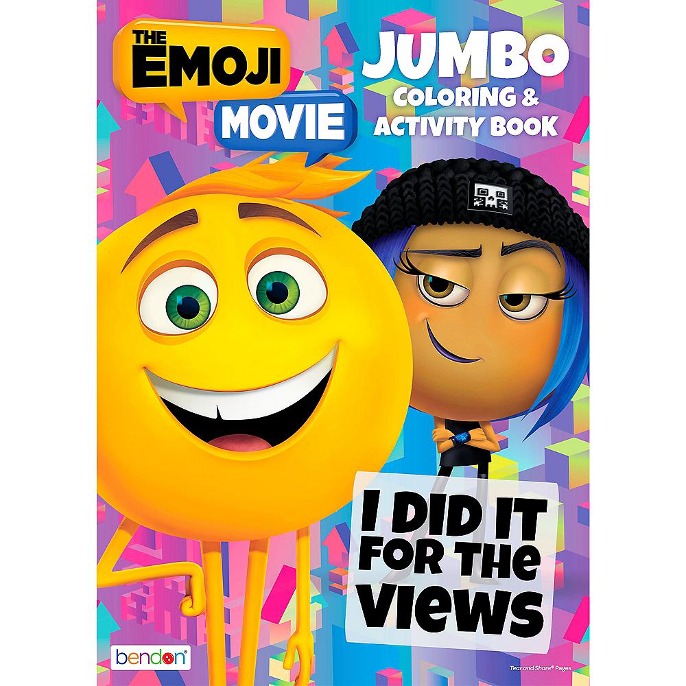 The Emoji Movie Coloring & Activity Book Image #1
