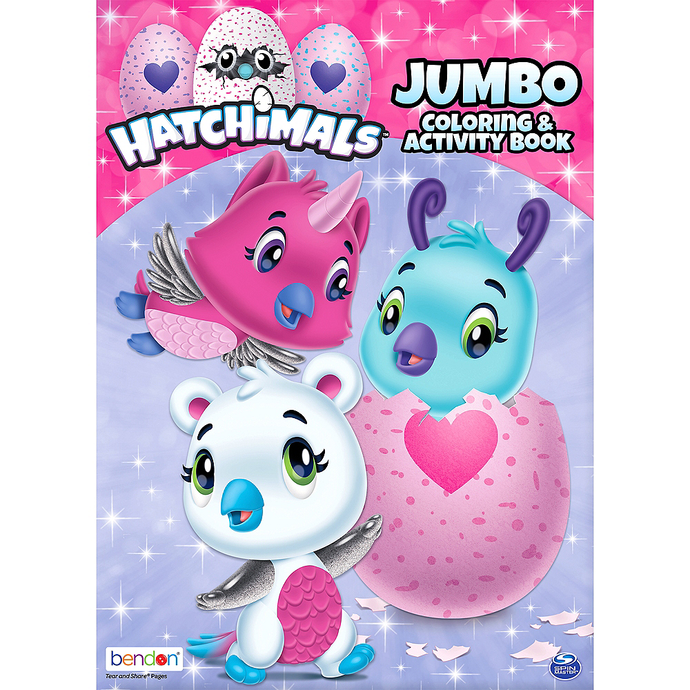 Hatchimals Coloring & Activity Book 7 3/4in x 10 3/4in | Party City ...