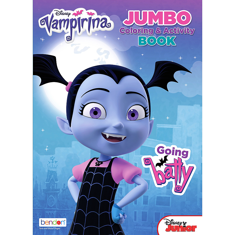 Vampirina Coloring & Activity Book Image #1