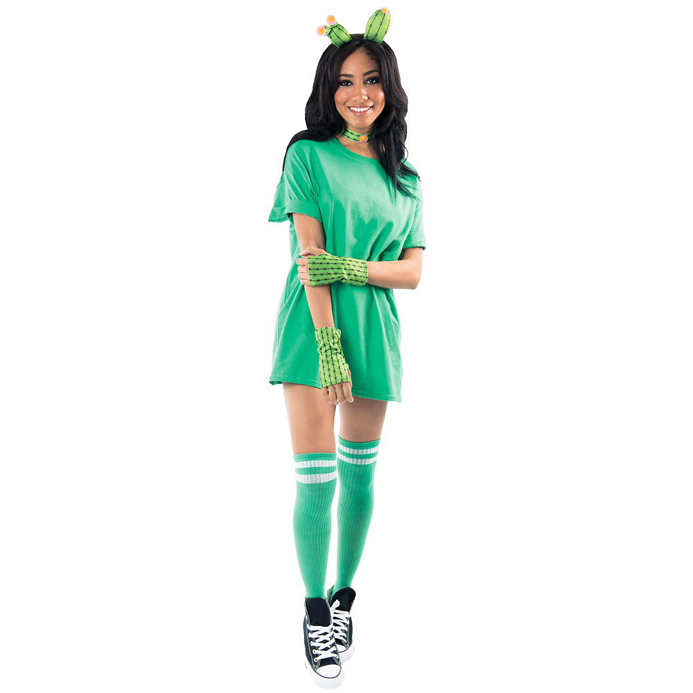 Womens Cactus Costume Accessory Kit Image #1