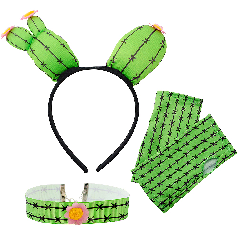 Womens Cactus Costume Accessory Kit Image #2
