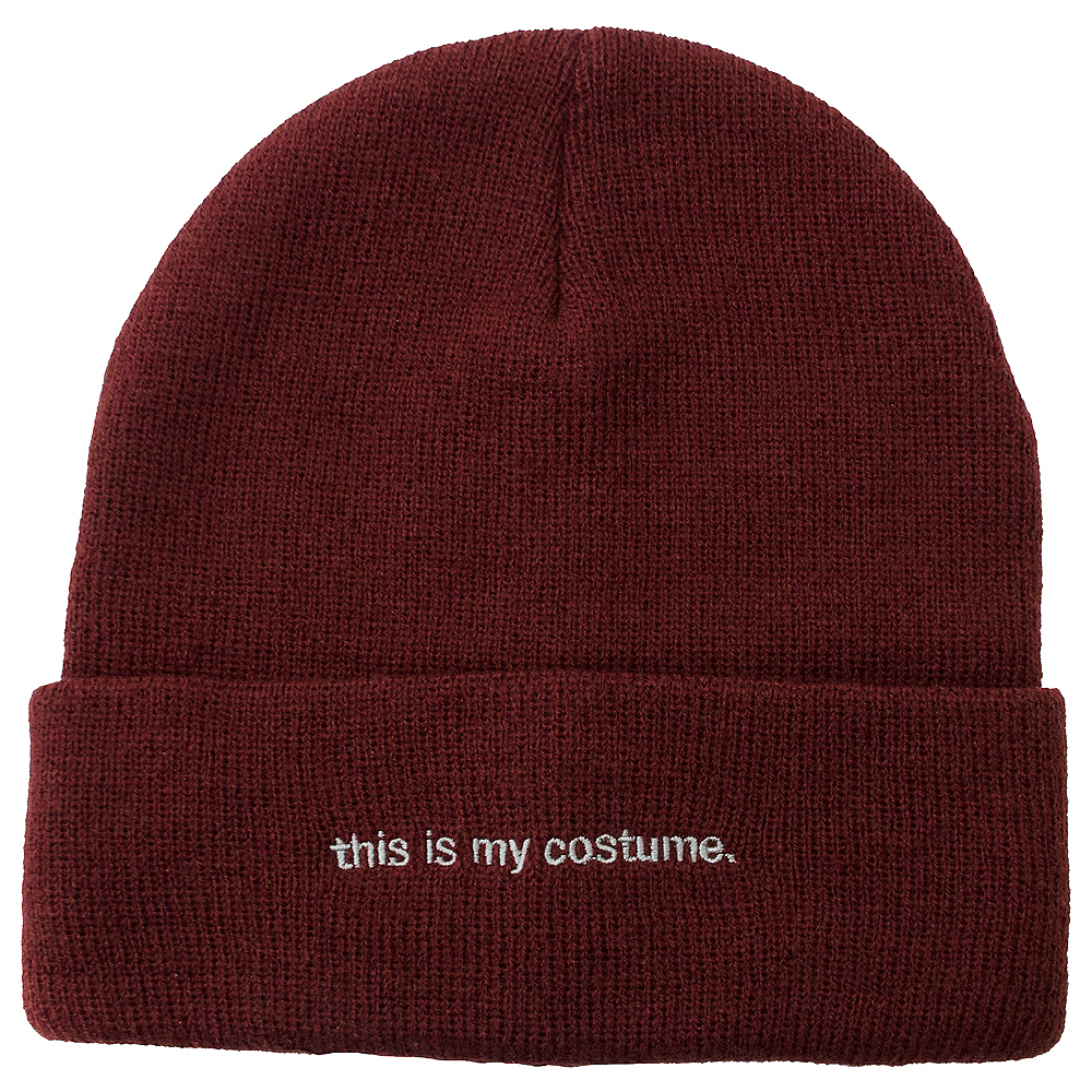 This Is My Costume Beanie Image #1