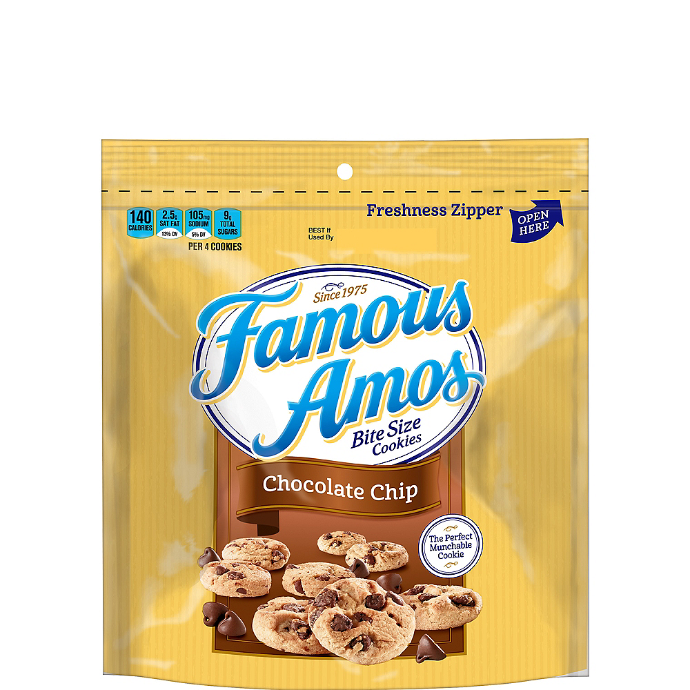 Famous Amos Bite-Size Chocolate Chip Cookies Image #1