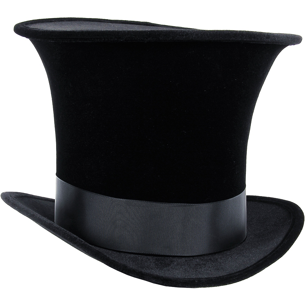 Black Bell Topper Hat Image #1