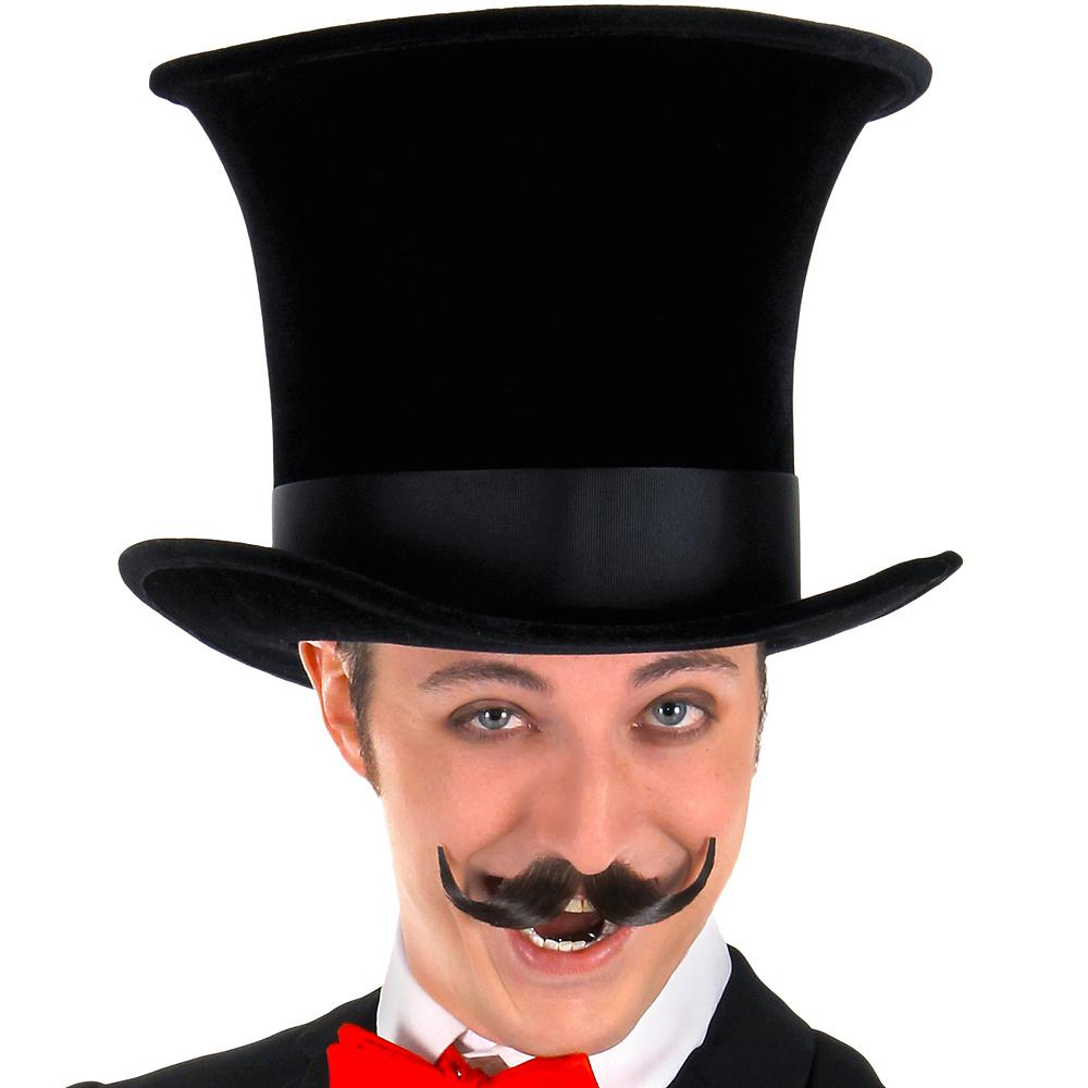 Black Bell Topper Hat Image #2