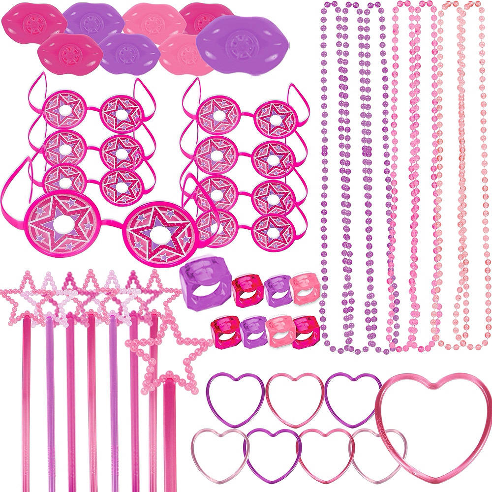 Pink Donut Pinata Kit with Favors Image #5