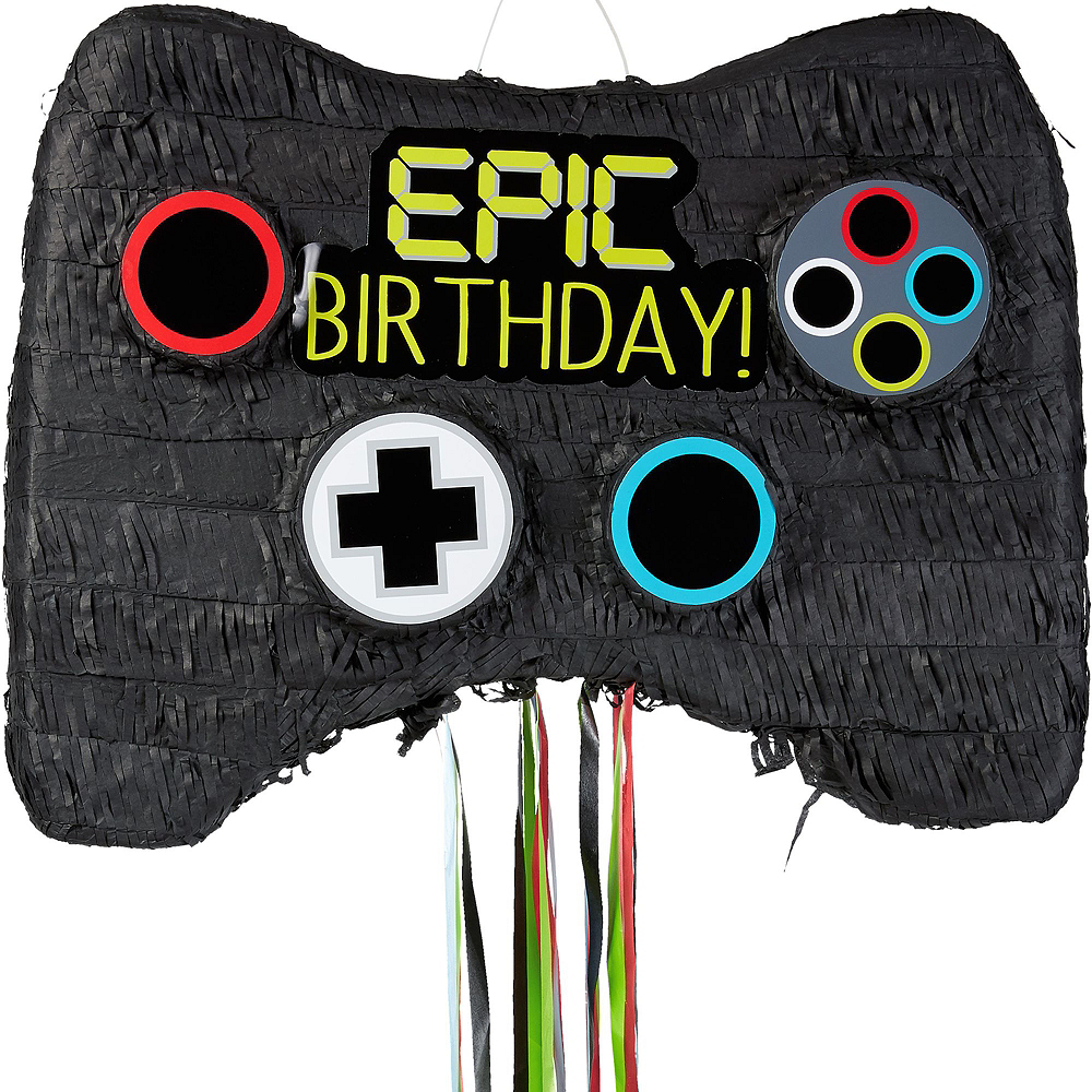 Video Game Controller Pinata Kit with Favors Image #2