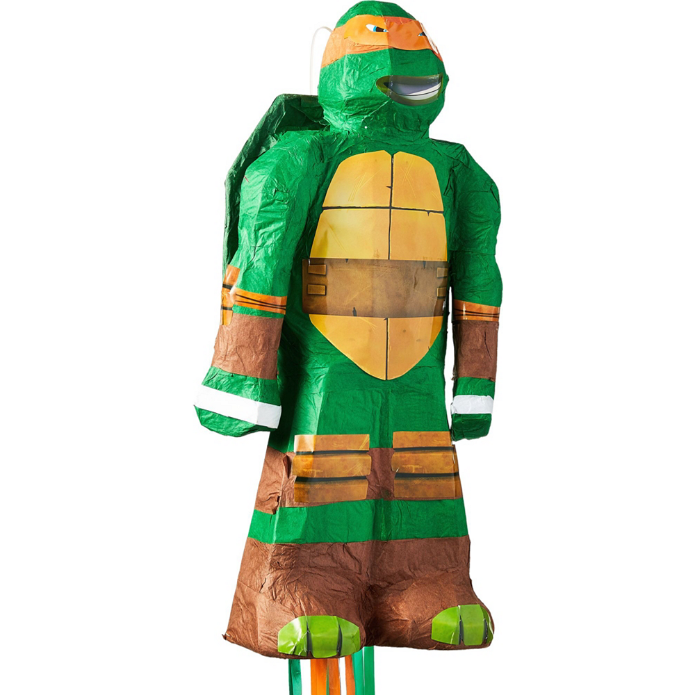 Michelangelo Pinata Kit with Candy & Favors - Teenage Mutant Ninja Turtles Image #2