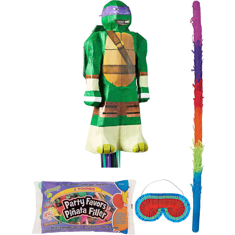 Donatello Pinata Kit with Candy & Favors - Teenage Mutant Ninja Turtles Image #1