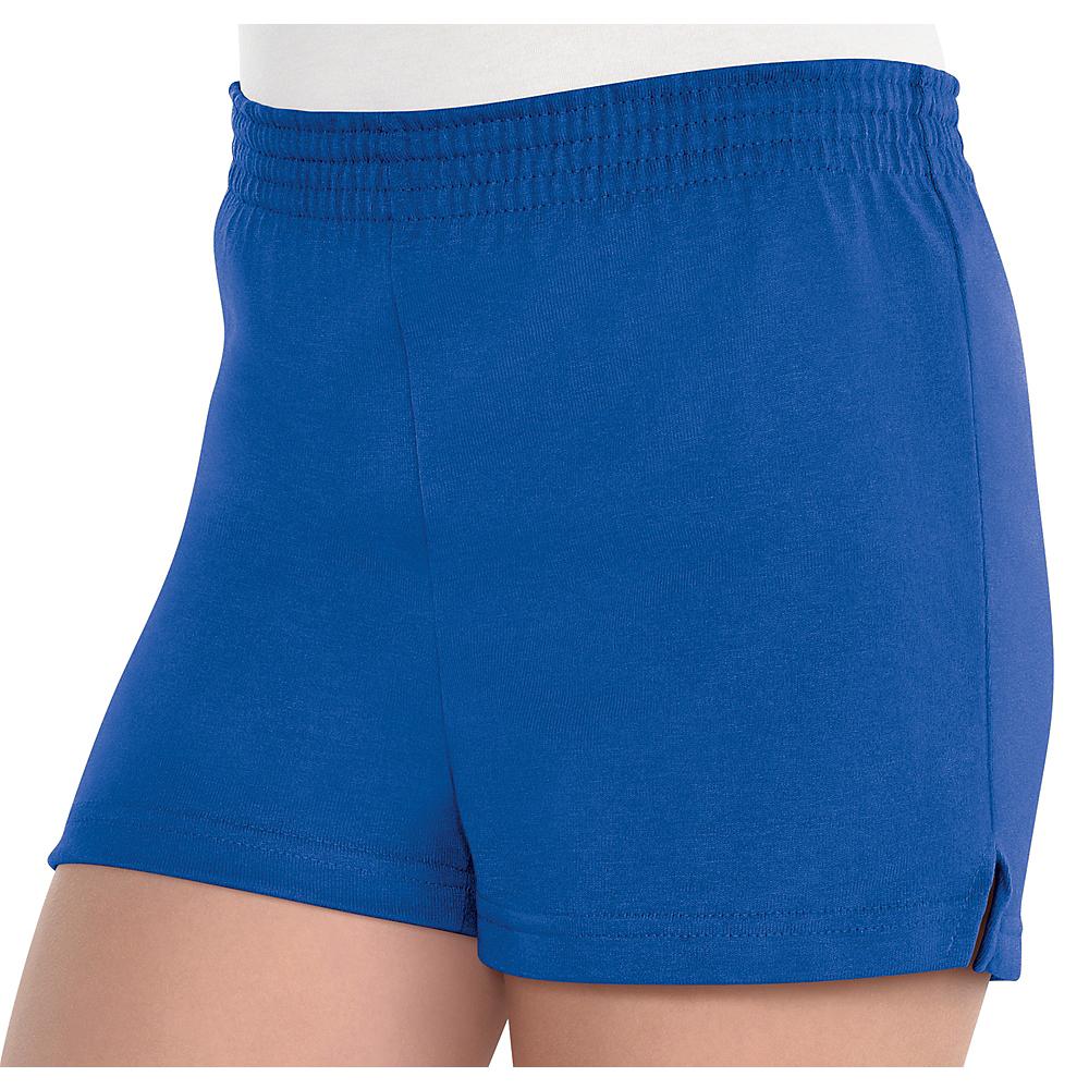 Girls Blue Sport Shorts Image #1