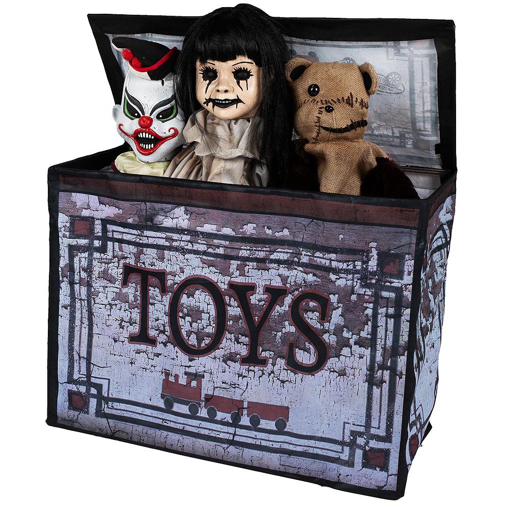 Animated Haunted Toy Box Image #2