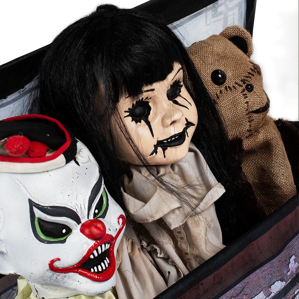 Animated Haunted Toy Box Image #3