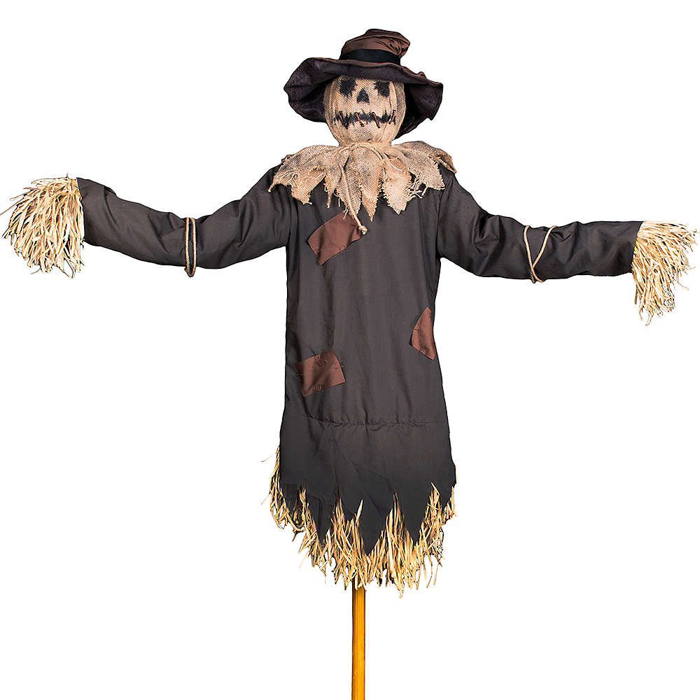 animated haunted scarecrow 63in x 74in party city